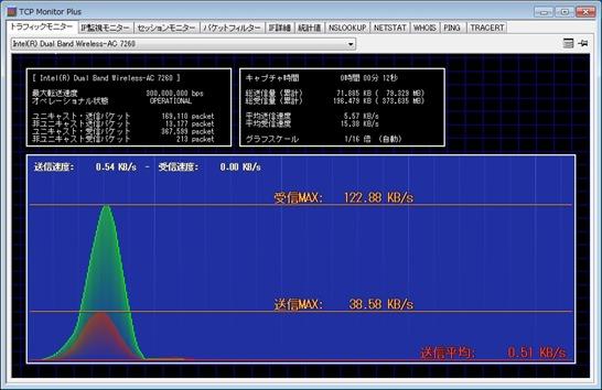 TCPモニター