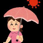日傘ユビオンプレミアムホワイトはマイナス10度を体感