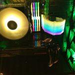 自作PCをAura Sync対応のマザーボード、ファン、LEDテープ、パーツで光らせる