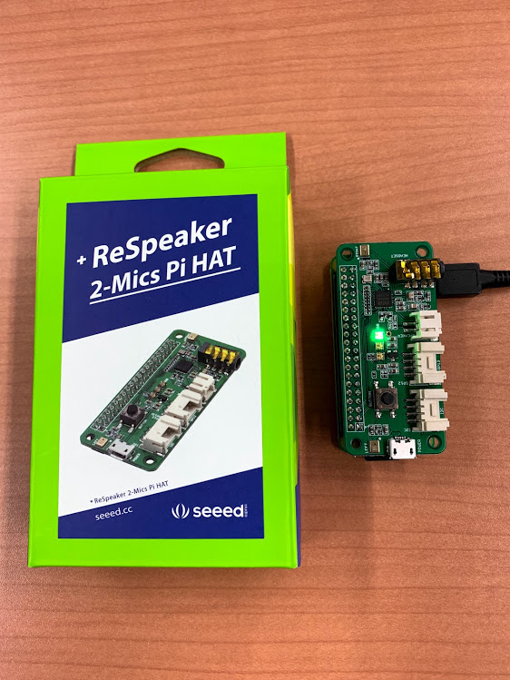 Raspberry PiとRespeaker 2-Mics Pi HATにJuliusをインストール